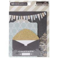 Teresa Collins Designs - Enveloppes Multicolore