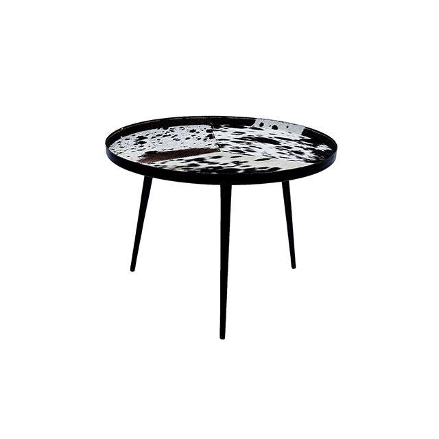 0f2692b66d7 Rendez Vous Deco - Table basse ronde Kerben - pas cher Achat   Vente ...