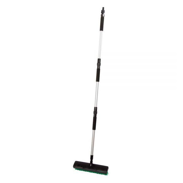 RIBILAND Balai brosse de nettoyage extérieur - à raccorder au tuyau d'arrosage