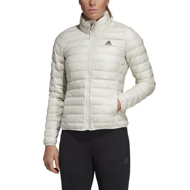 013580d4287c3 Adidas - Doudoune femme Varilite Blanc - Blanc - pas cher Achat ...