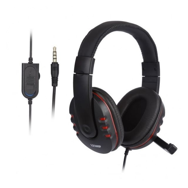 alpexe gaming headset leshp wirless sur t te. Black Bedroom Furniture Sets. Home Design Ideas