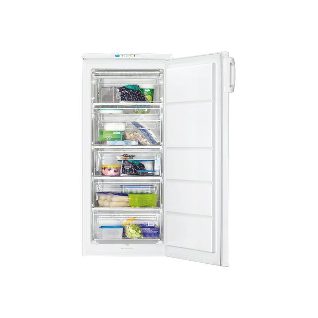 Faure cong lateur armoire 55cm 168l a blanc ffu19400wa achat cong lateur - Congelateur armoire faure ...