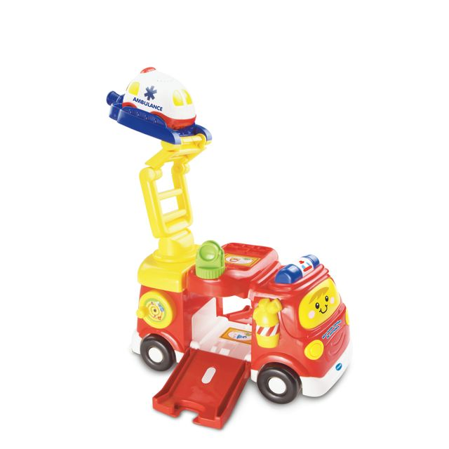 VTECH Tut Tut Bolides - Mon super camion de pompiers + Clémence SOS Ambulance 151315