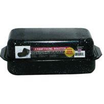 GRANITEWARE - roaster en acier carbon 33x23cm + grille - 0535