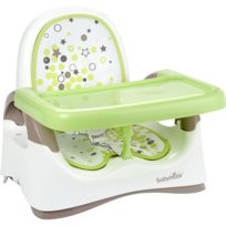 BabyMoov - Rehausseur compact taupe/vert amande