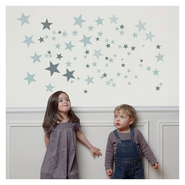 Art For Kids - Stickers autocollants Constellation Gris