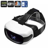 Shopinnov - Lunettes 3D Android Realite virtuelle Vr Affichage 5 pouces Hd WiFi Otg Google Play