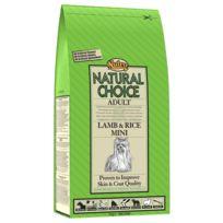 Nutro Natural Choice - Croquettes à l'Agneau et Riz pour Petit Chien Adulte 2Kg