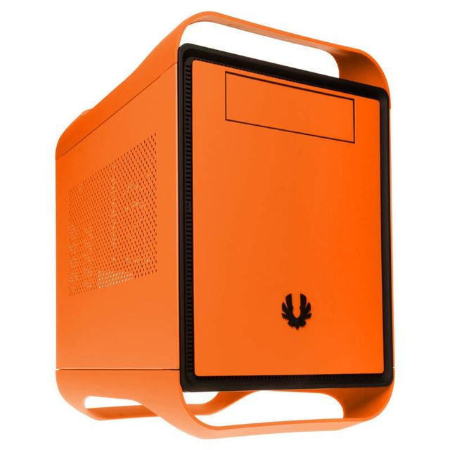 Bitfenix Prodigy Mini-ITX Gehause - orange