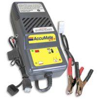 Tecmate - Chargeur de Batterie Accumate 6V/12V 2>75Ah