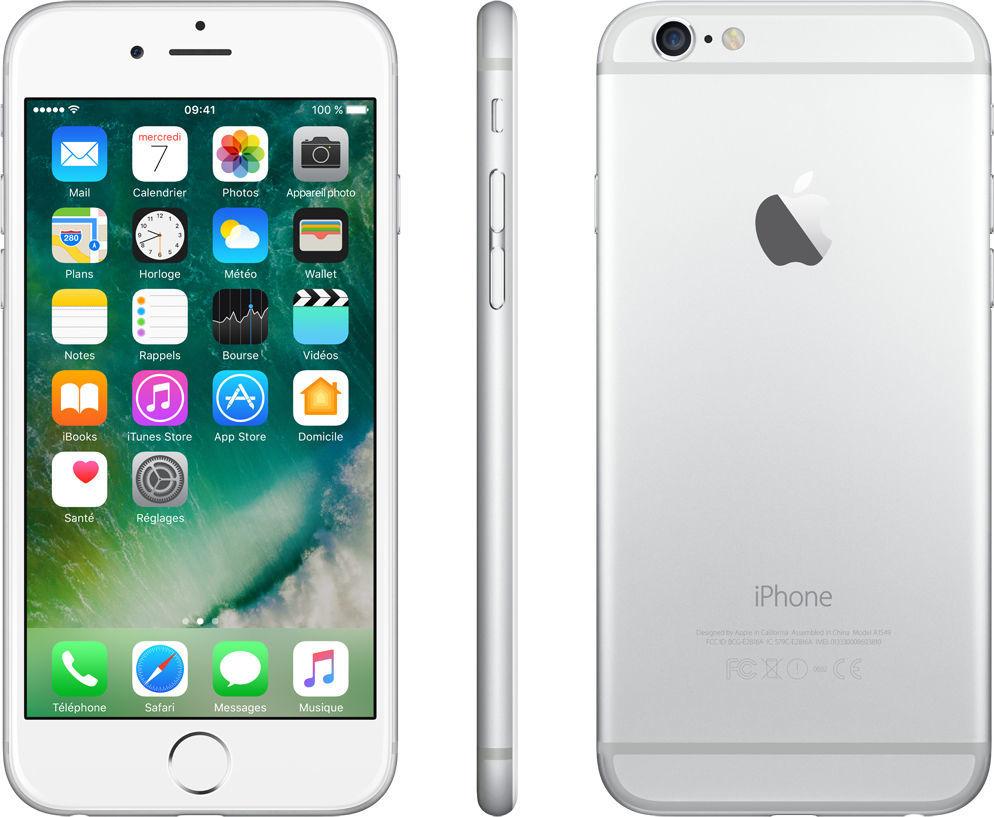 iPhone 6 - 16 Go - Argent - Reconditionné