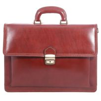 Chicca Borse - Sac porte-documents brun