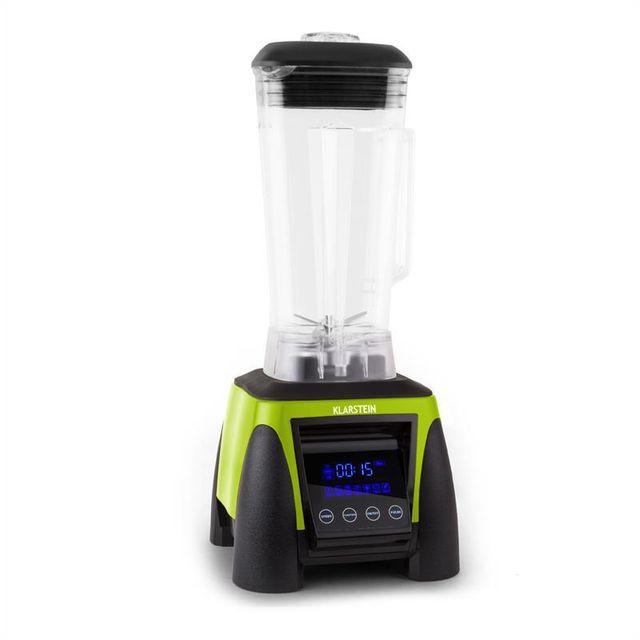 KLARSTEIN Appleberry Hulk Smoothie Mixeur Blender 2L sans BPA 1800w -vert