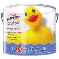 Big Teaze Toys - I Rub My Duckie canard jaune vibrant - 3 vitesses