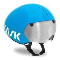 Kask - Casque Bambino Pro bleu avec visière transparente