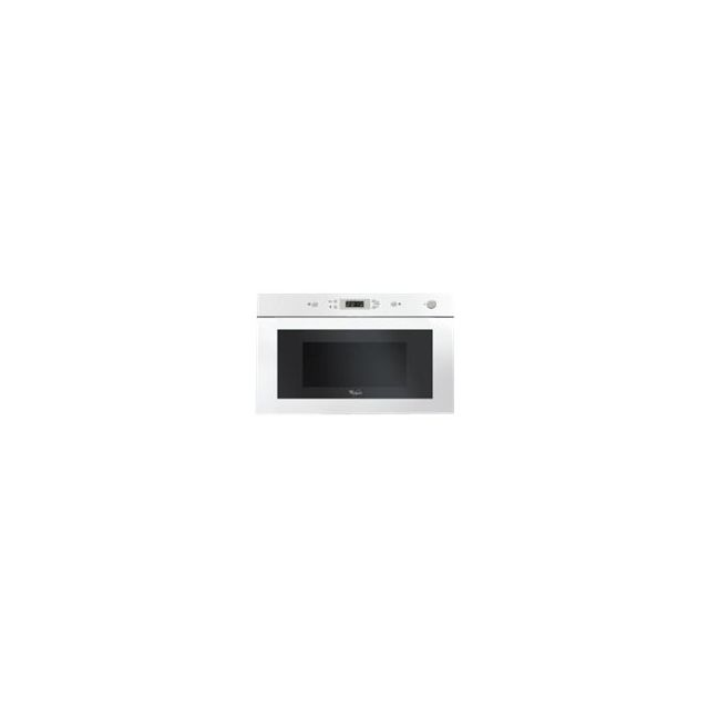 Whirlpool micro-ondes encastrable 22l 750w blanc - amw901wh - Achat ... f76d9ef1c643