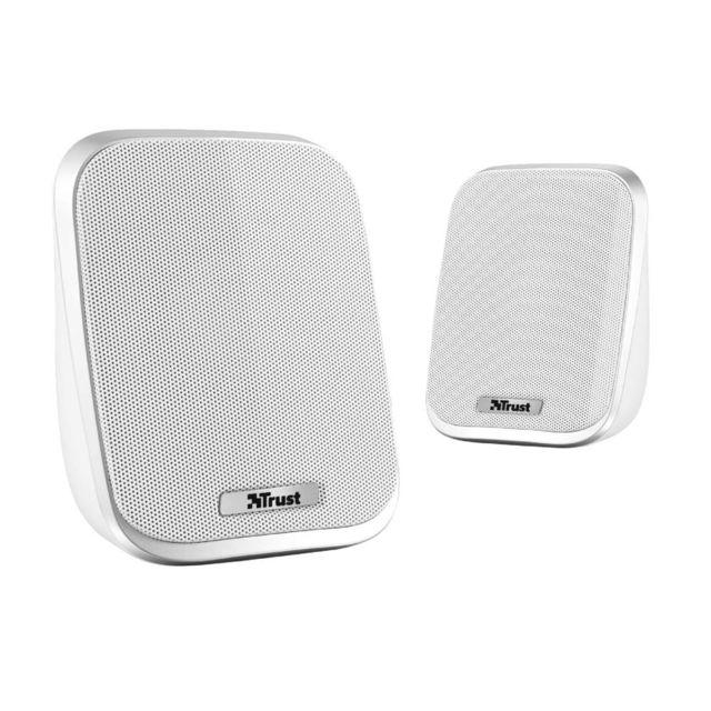 Trust Porto 2.0 Speaker Set - Blanc Porto 2.0 Speaker Set - Blanc - Enceinte 2.0 6W
