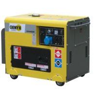 Genyx - Groupe électrogène Diesel 5000W + Kit roues et Avr Monophasé G5000DM