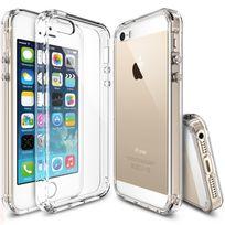 Cabling - iPhone 5/5s/SE coque Case etui avec Tpu doux transparent avec absorption des chocs
