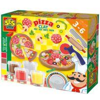 Ses Creative - Pâte à modeler : Fabrication de pizza