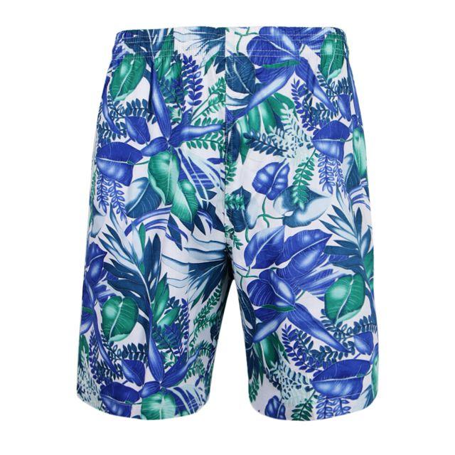 >Hommes shorts hawaïens plage palmier vacances luau troncs tropicaux xl style 4