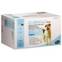 Zoetis - Pack 1 X Eliminall Chiens 10-20 Kg 134 Mg 30 Pipetes