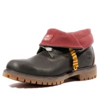 timberland roll top fourrure homme
