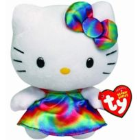 No Name - Ty - Peluche - Beanie - Hello Kitty - Hello Kitty Arc En Ciel Rainbow