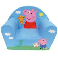 Jemini - Fauteuil club mousse Peppa Pig & George