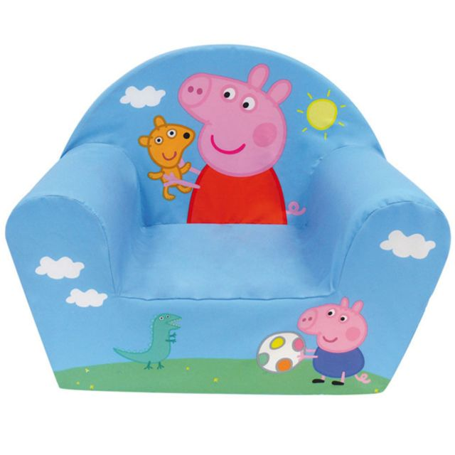 Jemini Fauteuil club mousse Peppa Pig & George