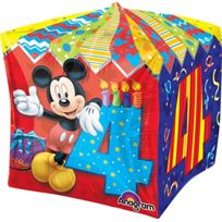 "ToyCentre - Amscan 15 ""/ 38 Cm Cubez Foil Balloons 4 Ans"