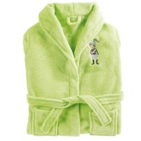 Douceur D'INTERIEUR - Peignoir vert petit chevalier 2/4 ans en microfibre