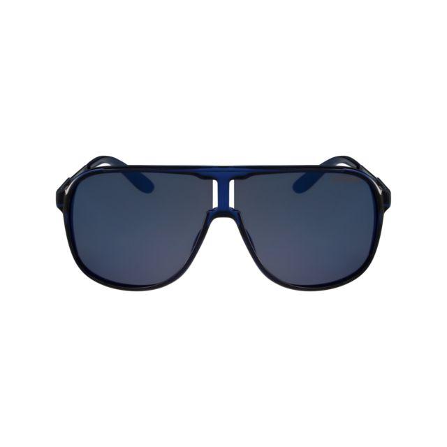 Carrera - New-Safari Kmf XT Bleu - Lunettes de soleil - pas cher Achat    Vente Lunettes Tendance - RueDuCommerce aa080c7273dd