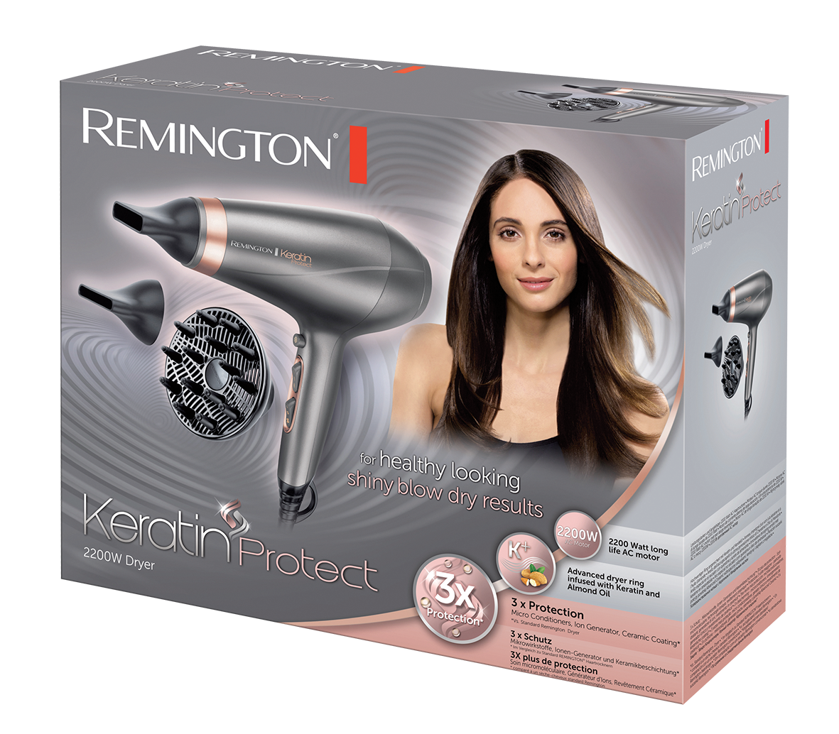 AC8820 Sèche-cheveux Keratin Protect