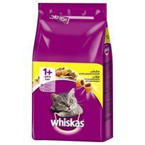 Whiskas - Croquettes +1 au Poulet pour Chat - 1,75Kg