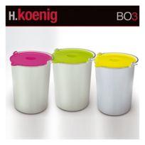 Hkoenig - Set De 3 Bols A Glace Pour Turbine Hf250 De H.Koenig