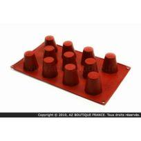 Paderno - Moule flexible en silicone - 11 babas italiens - Flexipad