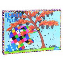 Petit Jour Paris - Puzzle de 9 pièces Elmer: cueillette des fruits - Petit Jour