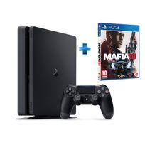 Pack Nouvelle PS4 500GO + Mafia 3