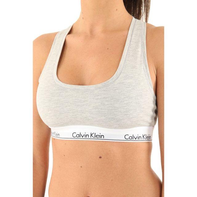 Calvin Klein - Brassière 0000F3785E - pas cher Achat   Vente Soutien-gorges  - RueDuCommerce 01370164679