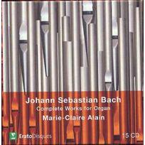 Erato - Johann Sebastian Bach - Oeuvre pour orgue 1978-1980 Coffret