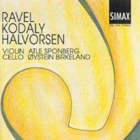 Simax Classics - Music for Violin and Cello