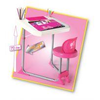 Barbie - Table de styliste - Pupitre - Bureau à dessin pour enfant