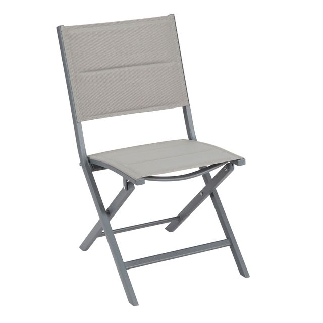 No l chaise de jardin pliante table et chaises for Chaise de jardin carrefour