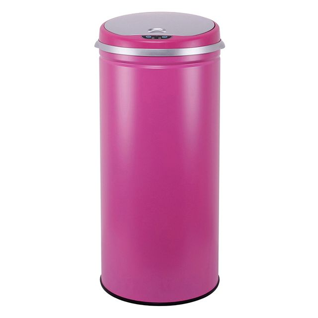 Kitchen move - bat-42li pink - poubelle automatique 42l rose mat ...