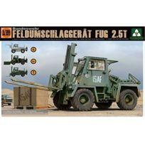 Takom - 1:35 - German Feldumschlaggerat Fug 2.5T FORKLIFT, 4 In 1 Kit