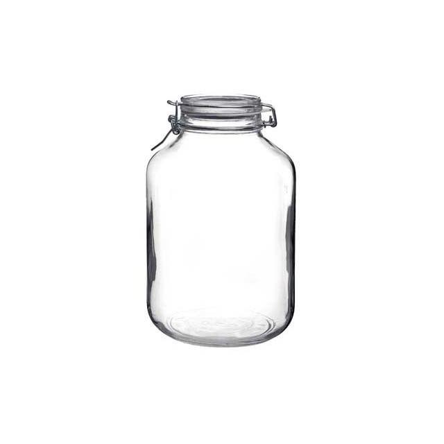 Bormioli Rocco Bocal hermétique rond 5 L en verre pour terrine - Fido
