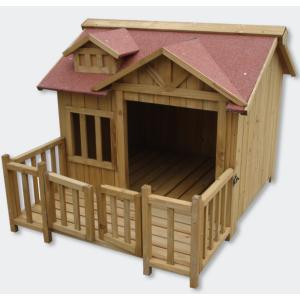 bigb niche a chien xl ou chenil en bois pas cher achat. Black Bedroom Furniture Sets. Home Design Ideas