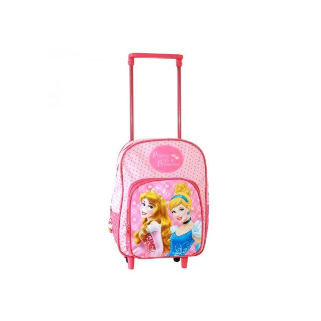 Princess - Sac à roulettes Princesses - Cartable Fille Crèche et Maternelle  - 30 cm - pas cher Achat   Vente Cartables, sacs à dos maternelle - ... 9d31dc4744b6