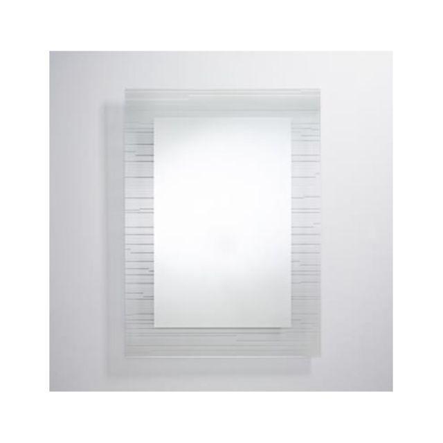 Deknudt Mirrors Miroir Contemporain Sonar Rectangle Rectangulaire 110x80 cm